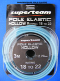SHAKESPEARE HOLLOW POLE ELASTIC SIZE 18-22 BLUE